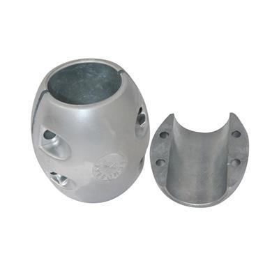 Anodo Eje Salobre Aluminio Al Eje 1.3/8 35 mm