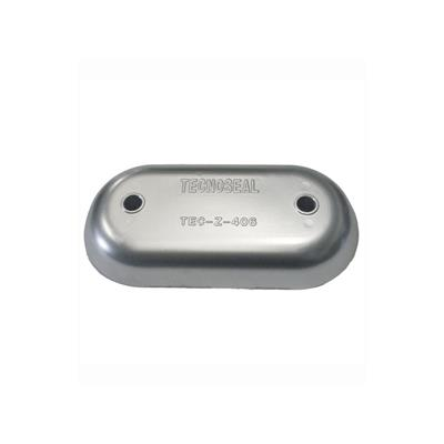 Ánodo placa mar zn 216x106x28mm