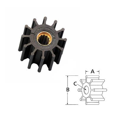 Rotor 13554-0001Rx  Joh 812B  Yanmar 119773-42600