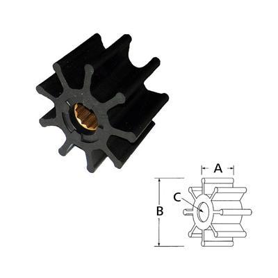 Rotor 17018-0001Rx /Cat Mercruiser Diesel 220-300Hp 17018-00 01