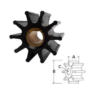 Rotor 17954-0001Rx Mercruiser Impeller For 1999 & Older Mercruiser 47-59362T-1