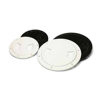Tapa De Inspección D 102 mm/4 Plástica Negra Plástico