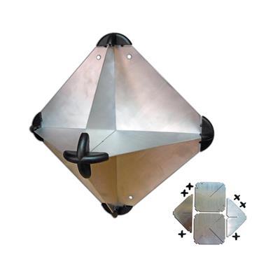 Pantalla Reflectora De Radar Aluminio Desarmable 300 mm Rombo