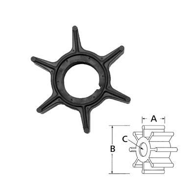 Rotor Tohatsu Nissa 369-65021-1 (15301 19701 55216