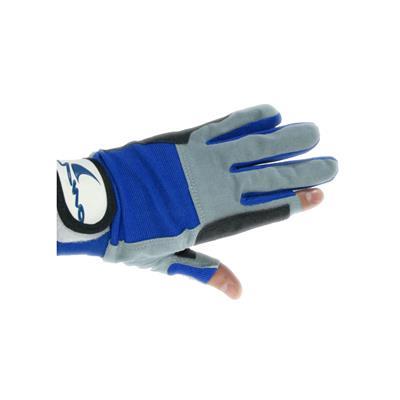 Guantes 2 dedos cortos 5/xxl blue
