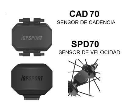 Sensores De Cadencia Y Velocidad Igpsport Garmin Strava Runtas COMBO