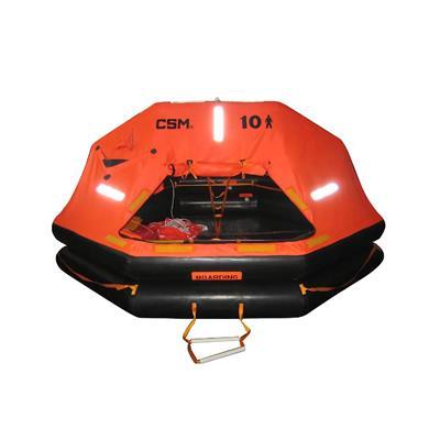 Balsa  Salvavidas ISO 9650-1A  10 Per Equipo Base Solo  Csmsin Pirotec