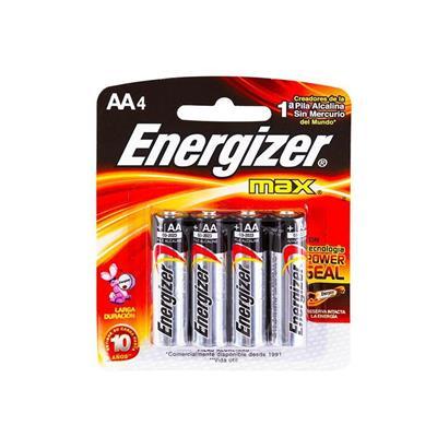 Pila Aa x 4 Chica Energizer Alc E91