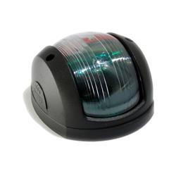 Luz de proa bicolor ¥ 97mm carcasa negra perko 170bb
