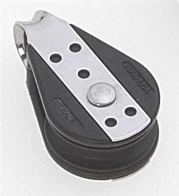 Motón cabo 10mm D 38mm 1 Rueda fijo v1180 v1180