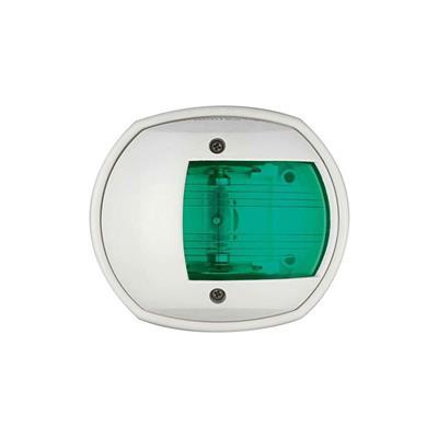 Luz De Anda D 86mm Verde Carcasa Blanca Lalizas