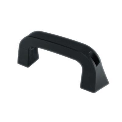 Escalon Plastico Negro 187x38 mm