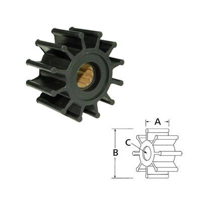 Rotor  1210-0001 Itt Volvo 860203 8