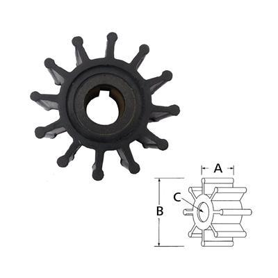 Rotor  4568-0001 Itt Volvo 875575/8