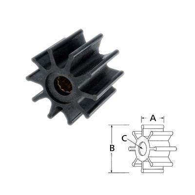 Rotor 17937-0001 Itt Volvo 845593 8
