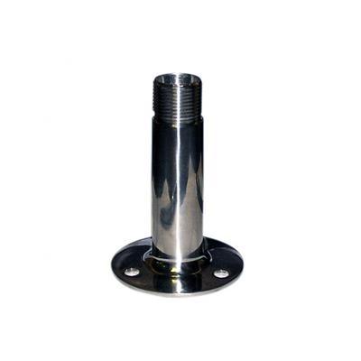 Base Antena Fija Vert Inox H104 mm