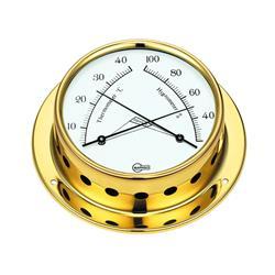 Barigo línea 70 tempo s bronce termohigrómetro ¢ 85mm
