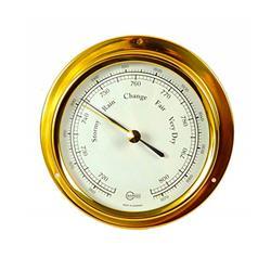 Termohigrómetro bronce laminado ¢ 100mm