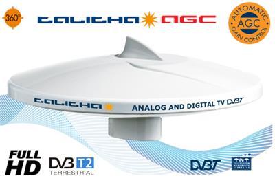 Antena  Tv  Glomex D 250 mm 20M Cabl