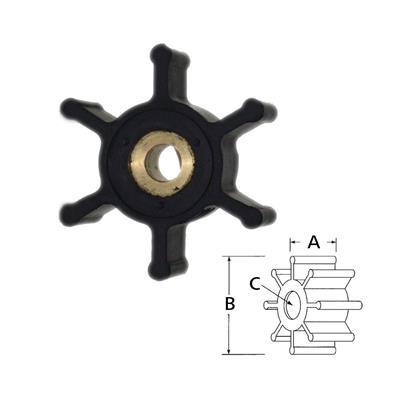 Rotor  6303-0001 Itt Inodoro Neopre