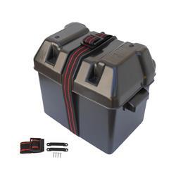 Caja portabatería 295x205x205mm batería hasta 75 amp