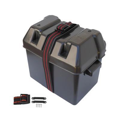 Caja Portabateria 295x205x205 mm