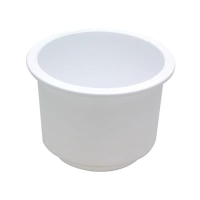 Portavaso Embutir Abs Blanco D 76 mm