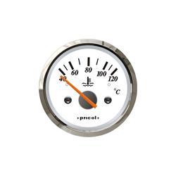 Indicador de temperatura de agua aro cromado pricol
