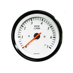 Cuentarevoluciones Tacometro 7000 RPM para Barco para Motor Fuera de Borda 2T y 4T Pricol