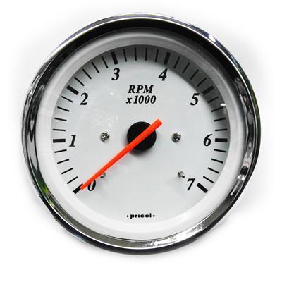 Cuentarevoluciones Tacometro 7000 RPM Fuera De Borda 2T y 4T Pricol