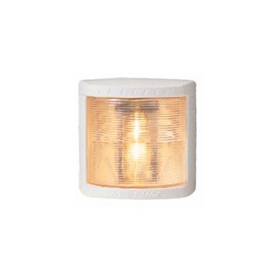 Luz de popa 105x100mm carcasa blanca