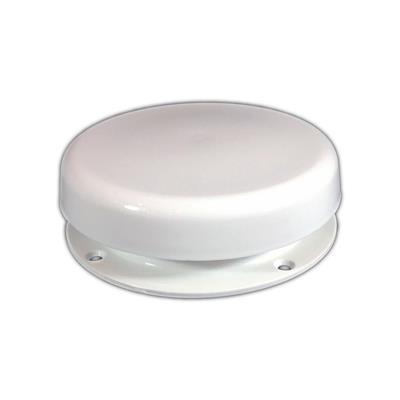 Aireador hongo de ABS blanco con cierre D 146 mm