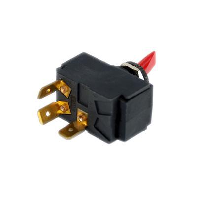 Interruptor ¢11mm 15a luz verde