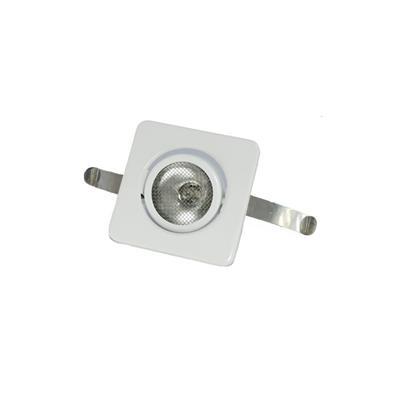 Plafón para embutir blanco 10 watts