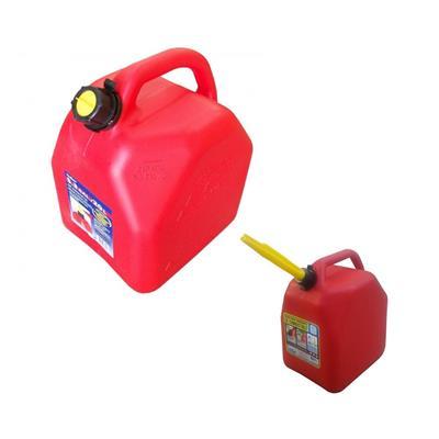 Bidon Combust 25Lts Rojo /6.6 Gal/25