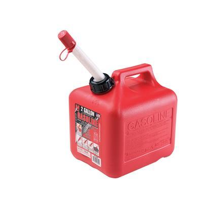 Bidón de combustible 7.81 lts - 2 galones homologado amsi-astm f852-06 eeuu sin pico vertedor