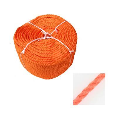 Cabo polietileno trenzado flotante ¢ 6mm naranja