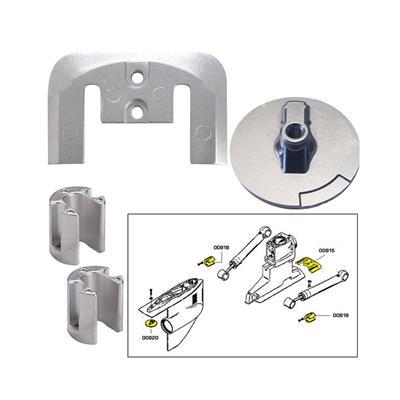 Anodo Mercury Kit 888756A Rio Mg 0081 Bravo 2 Y 3