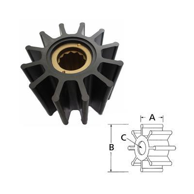 Rotor  3085-0001 Itt Volvo 825940 x