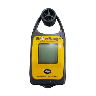 anemómetro manual digital + temperatura show ranger impa 370271