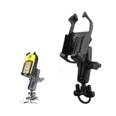 Gps soporte para caño/manubrio línea etrex de aluminio