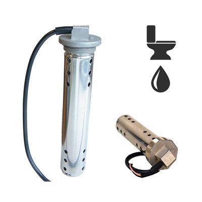 Sensor de nivel de aguas residuales 200 mm 0 – 190ohm señal