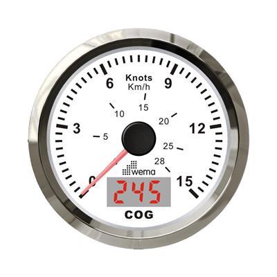 Cuenta millas de prescision con gps incorporado y compas electronico 15 nudos - 27 km