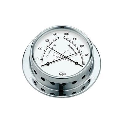Termohigrometro 70 mm Barigo Cromado  7