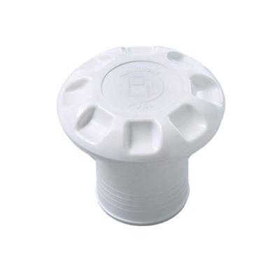 Tapa Tanque Diesel 38 mm Abs Blanca