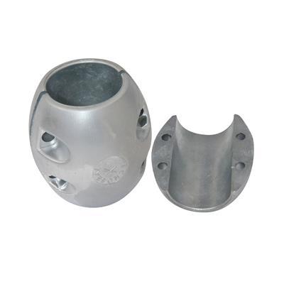 Anodo Eje Salobre Aluminio Al Eje  2.3/4 70 mm