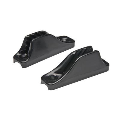 Clamcleat D 3/6mm de nylon base curva