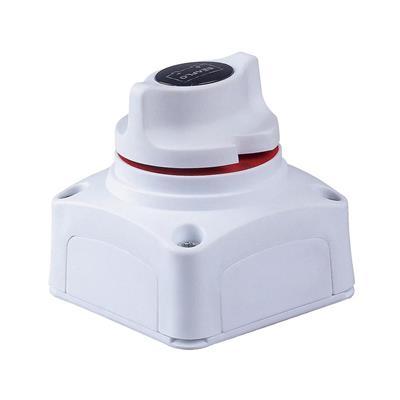 Llave Corte 1 Bateria 275 Amp Blanca