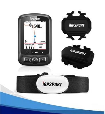 Ciclocomputador Igpsort 618 + Banda Cardíaca + Sensores de Velocidad y Cadencia