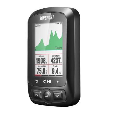 Ciclocomputador Igpsort 618 + Brazalete Cardio + Sensores de Velocidad y Cadencia